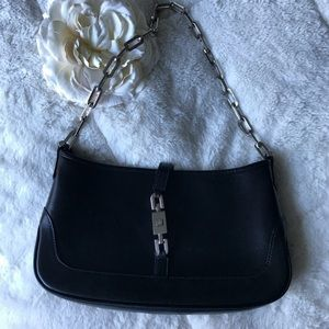 Gucci Leather Evening Bag